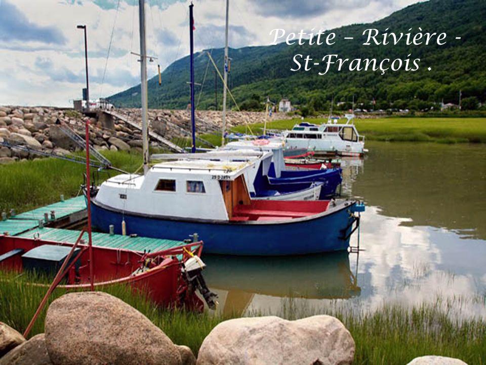 Petite – Rivière - St-François .