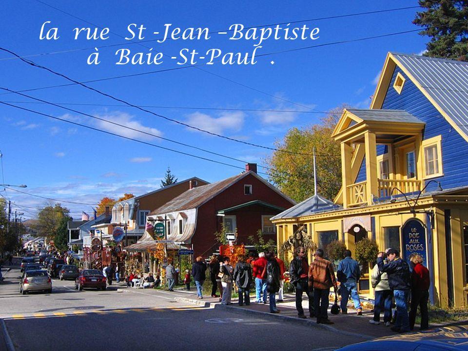 la rue St -Jean –Baptiste