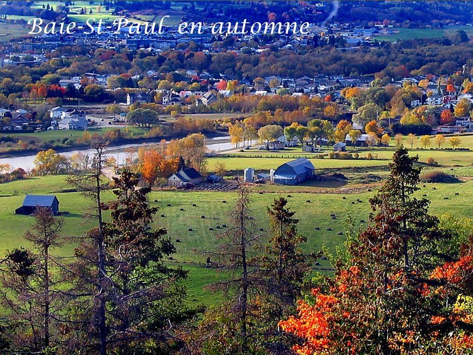 Baie-St-Paul en automne