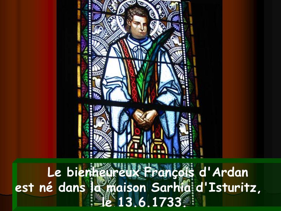 Le bienheureux François d Ardan