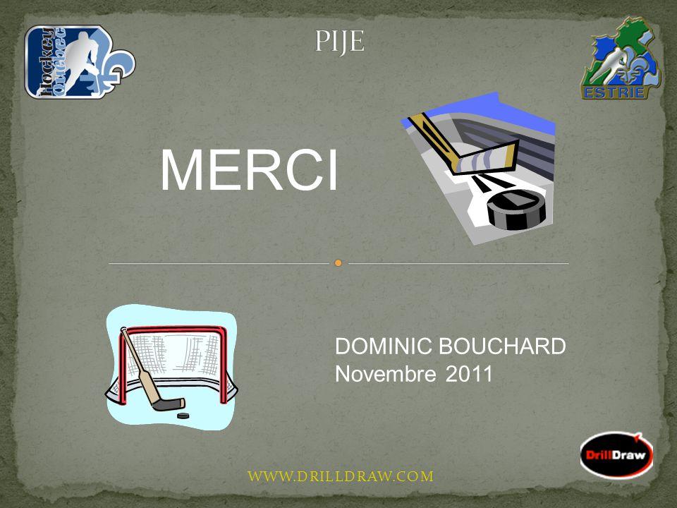 PIJE MERCI DOMINIC BOUCHARD Novembre 2011 WWW.DRILLDRAW.COM