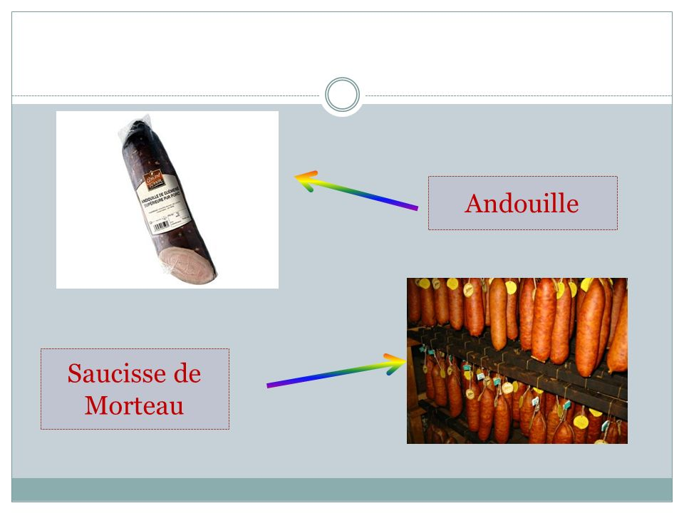 Andouille Saucisse de Morteau