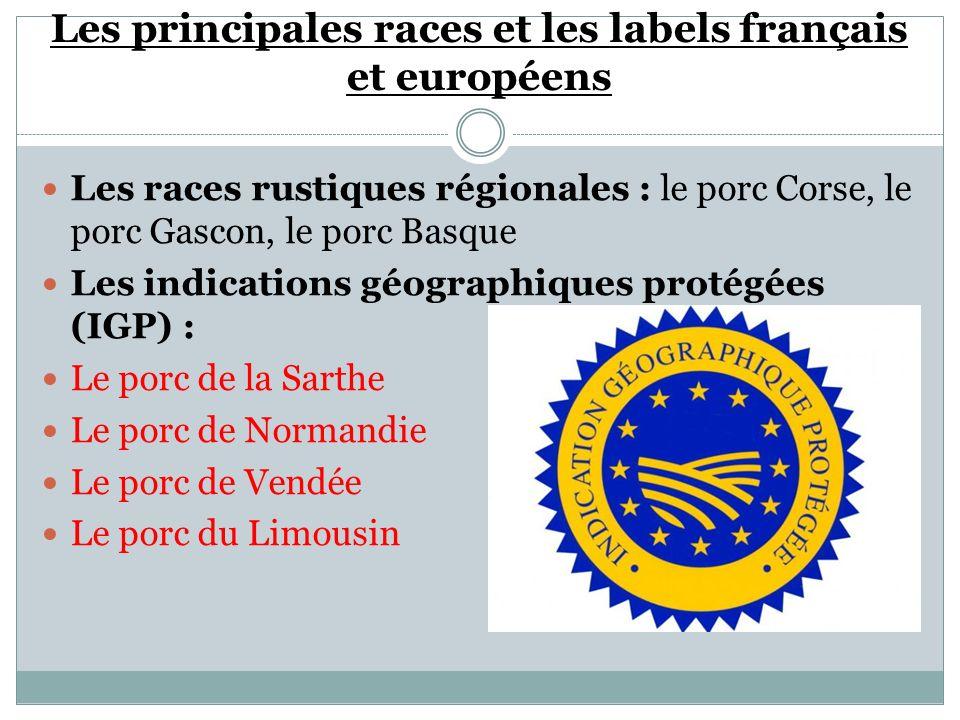 Les principales races et les labels français et européens