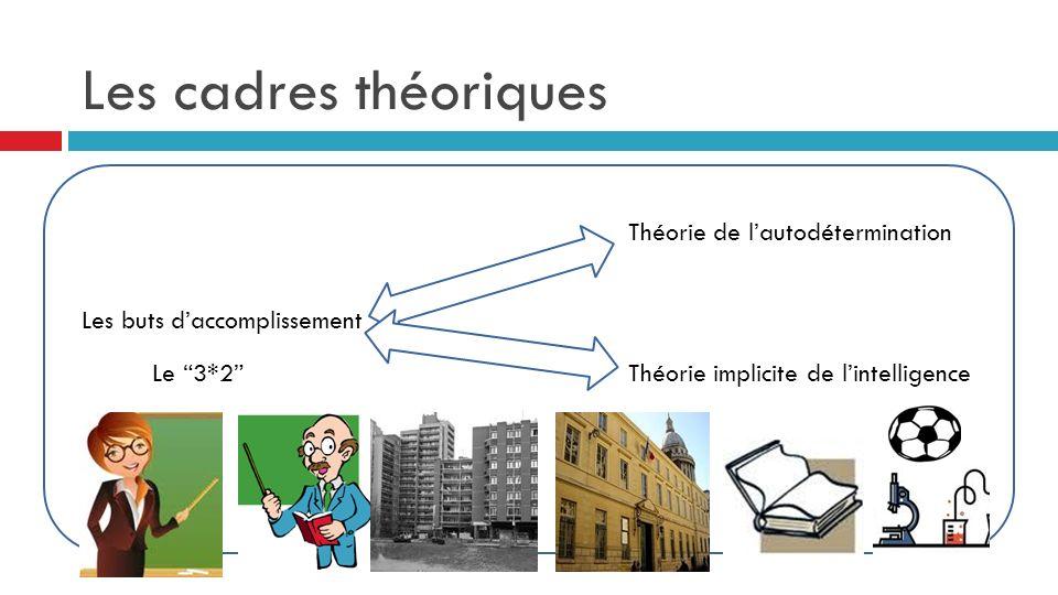 Les cadres théoriques Théorie de l'autodétermination