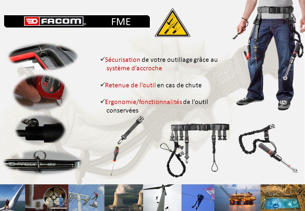 FME Sécurisation de votre outillage grâce au système d'accroche