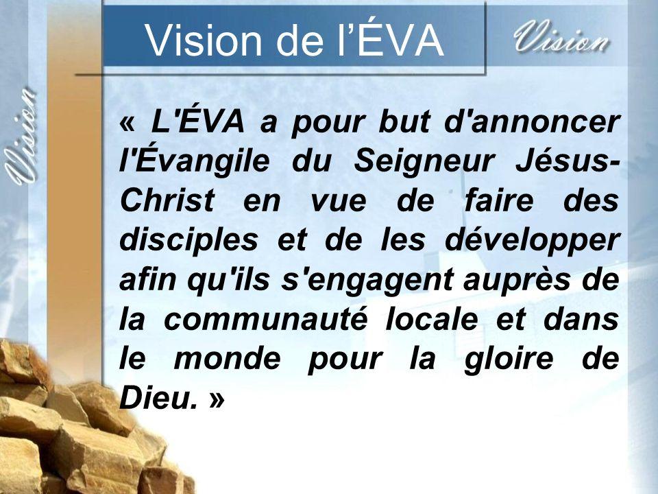 Vision de l'ÉVA