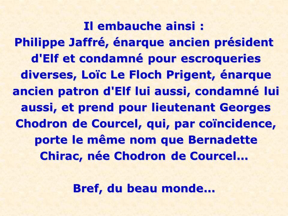 Philippe Jaffré, énarque ancien président