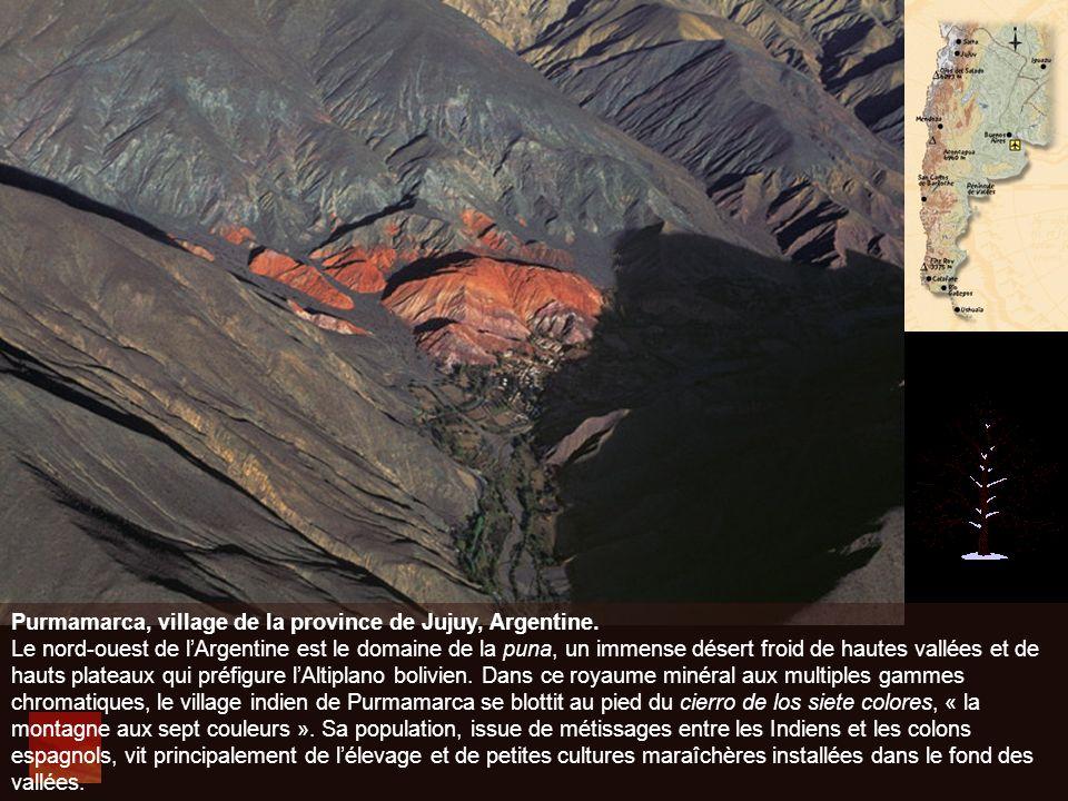 Purmamarca, village de la province de Jujuy, Argentine