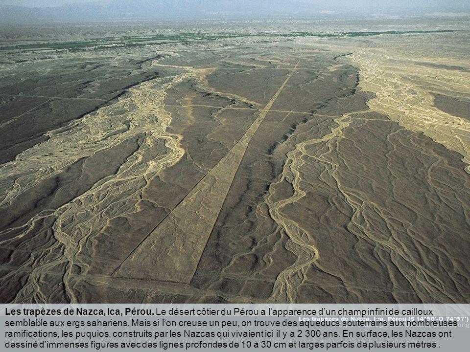 Les trapèzes de Nazca, Ica, Pérou