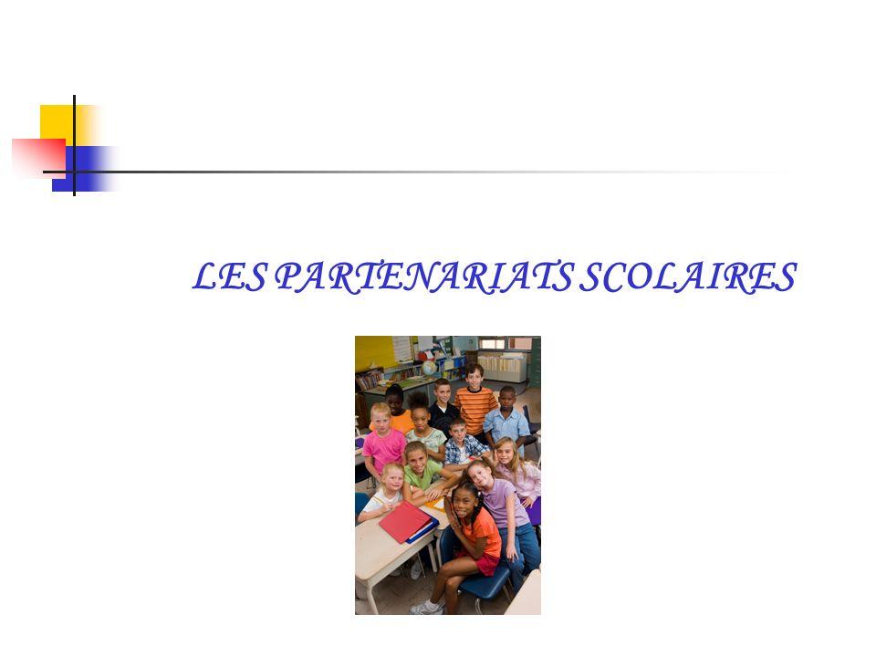 LES PARTENARIATS SCOLAIRES