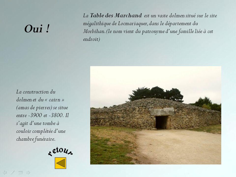 La Table des Marchand est un vaste dolmen situé sur le site mégalithique de Locmariaquer, dans le département du Morbihan. (le nom vient du patronyme d'une famille liée à cet endroit)
