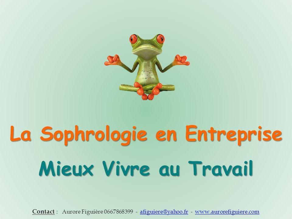 La Sophrologie en Entreprise