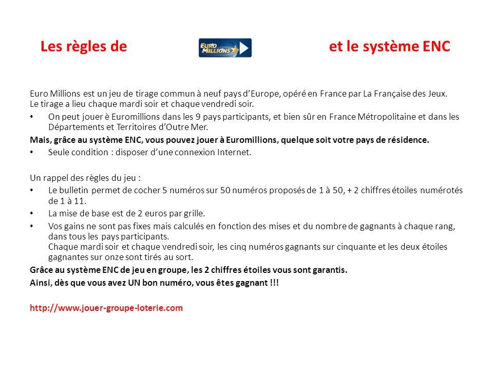Les règles de et le système ENC