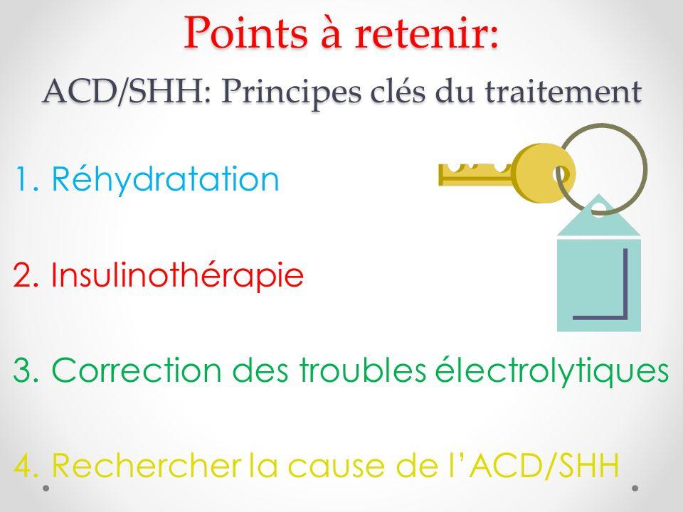 Points à retenir: ACD/SHH: Principes clés du traitement