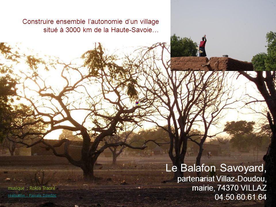 Construire ensemble l'autonomie d'un village situé à 3000 km de la Haute-Savoie…