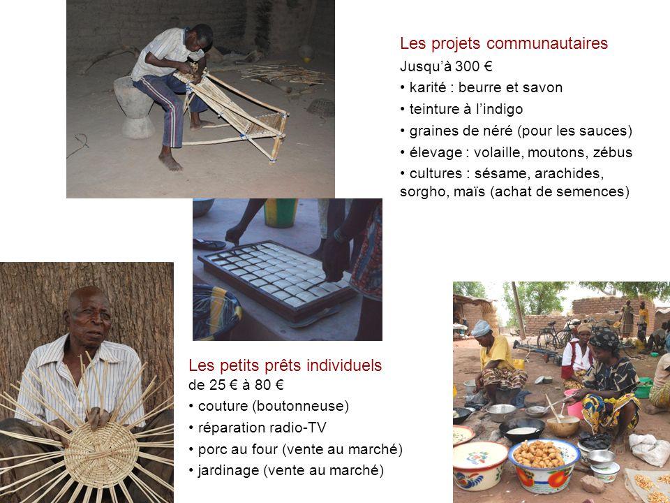 Les projets communautaires