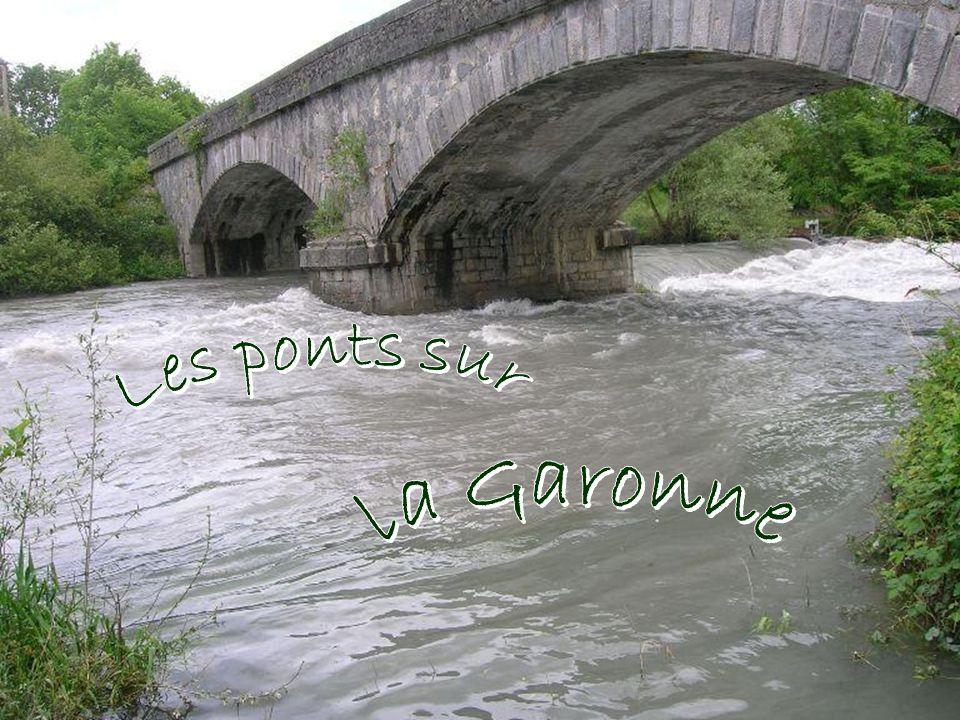 Les ponts sur la Garonne