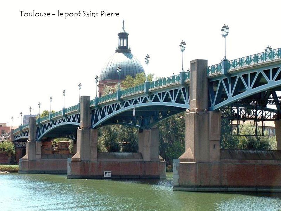 Toulouse - le pont Saint Pierre