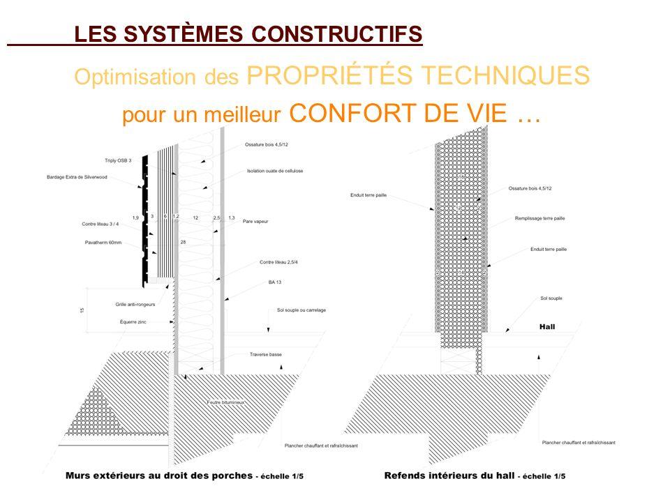 LES SYSTÈMES CONSTRUCTIFS