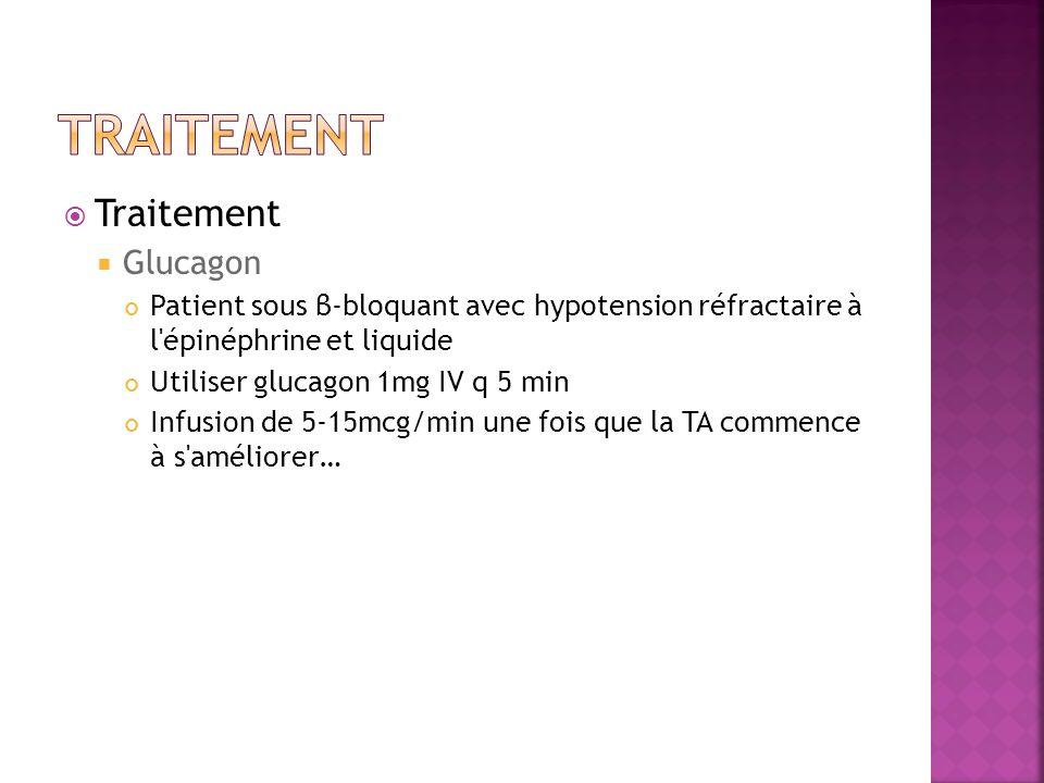 Traitement Traitement Glucagon