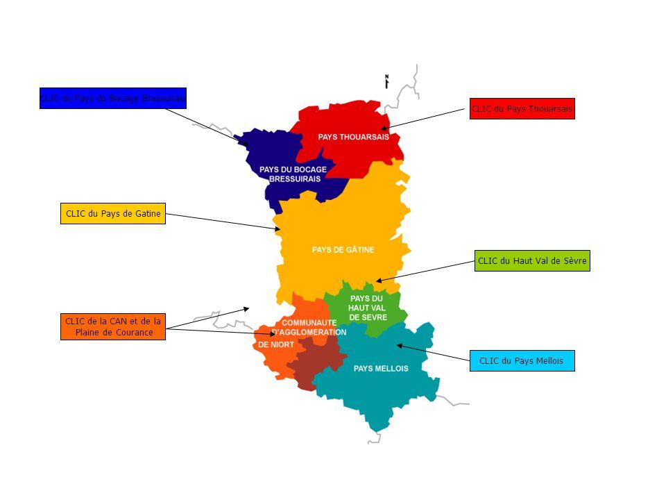CLIC du Pays du Bocage Bressuirais CLIC du Pays Thouarsais
