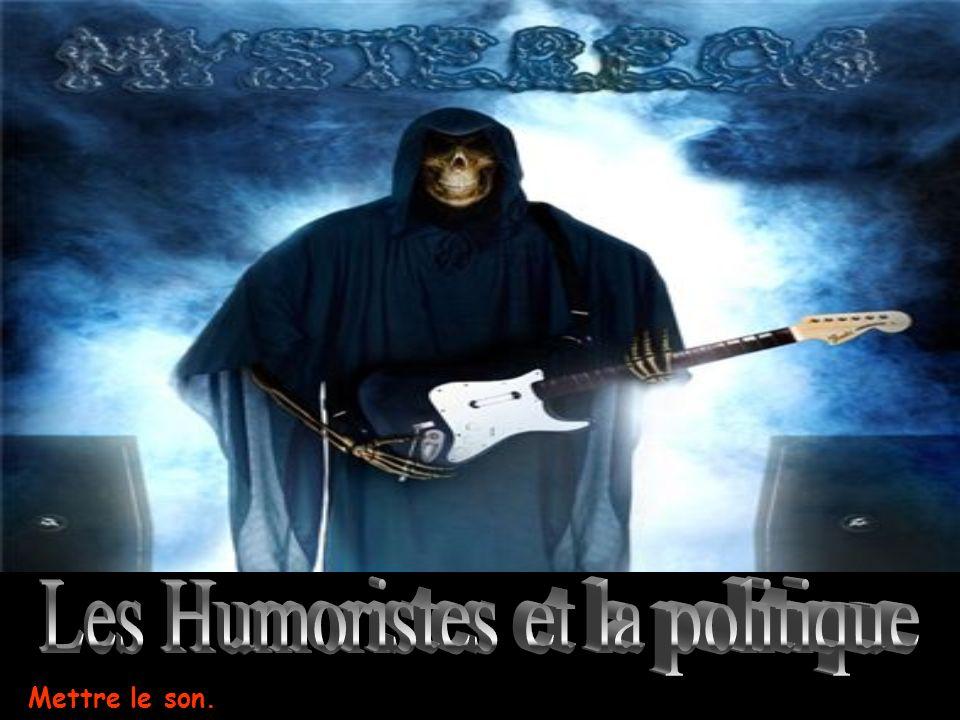 Les Humoristes et la politique