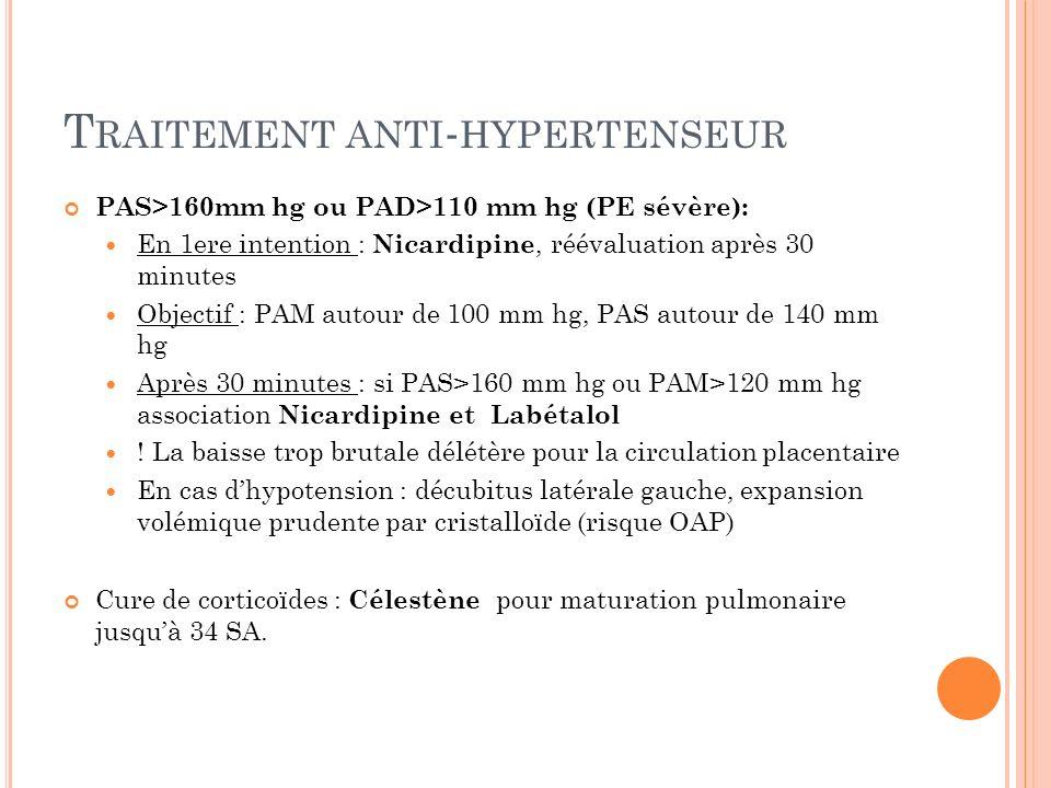 Traitement anti-hypertenseur