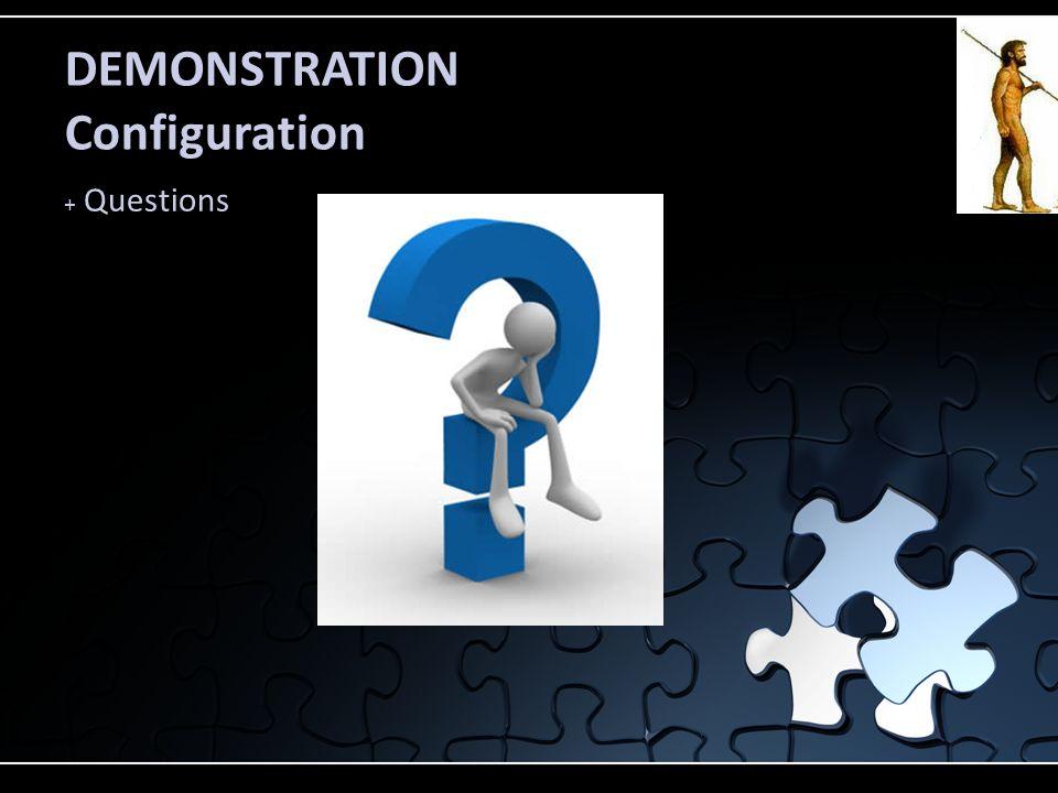 DEMONSTRATION Configuration