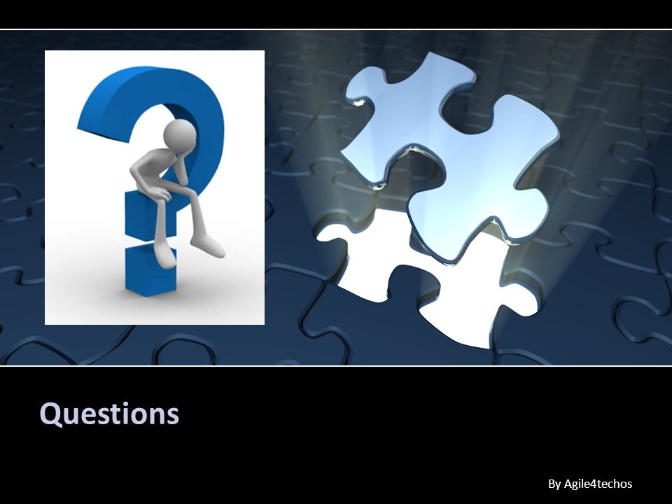 Questions By Agile4techos