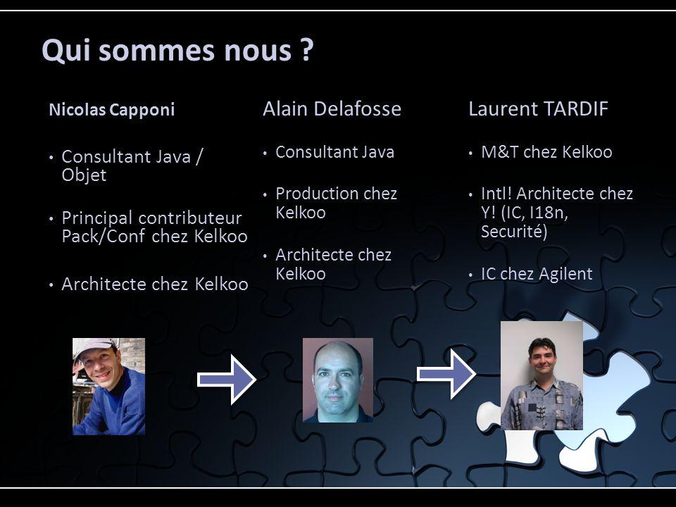 Qui sommes nous Alain Delafosse Laurent TARDIF
