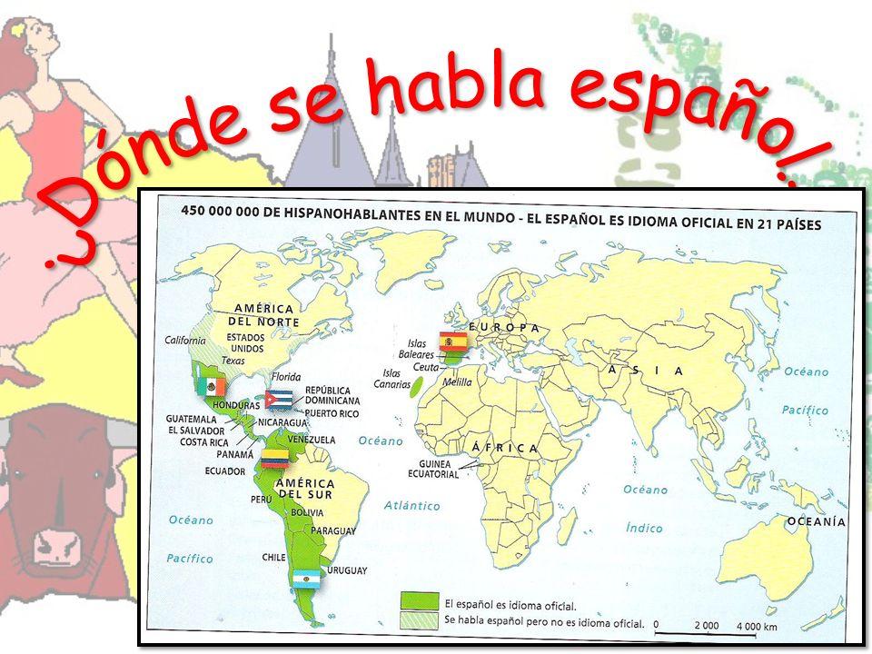 ¿Dónde se habla español