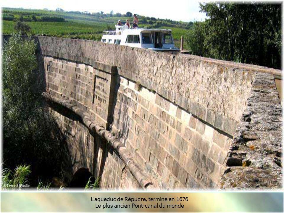 L'aqueduc de Répudre, terminé en 1676