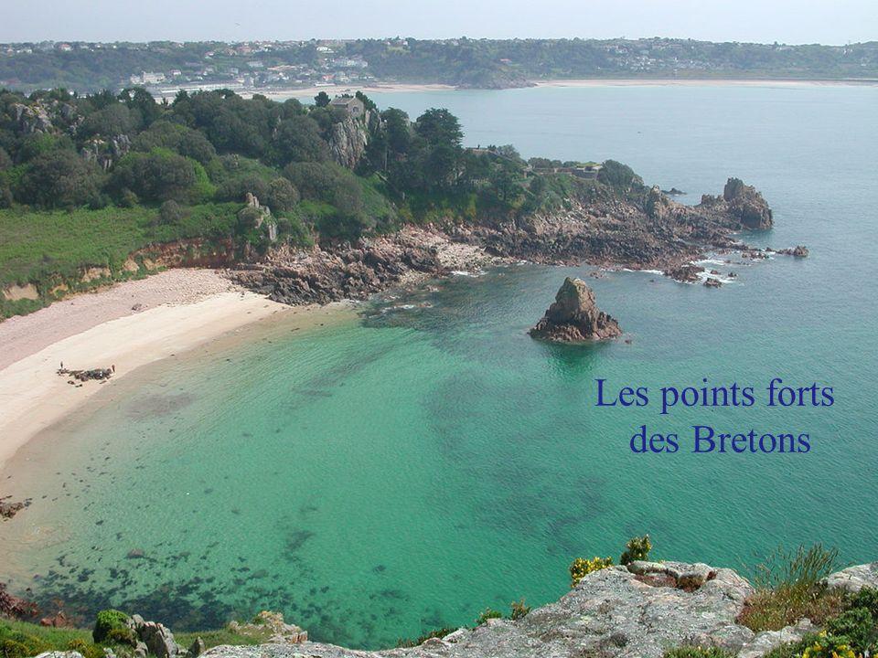 Les points forts des Bretons