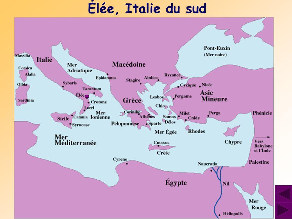 Élée, Italie du sud -