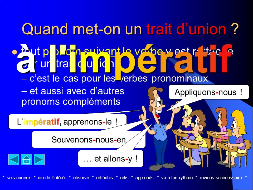 Quand met-on un trait d'union