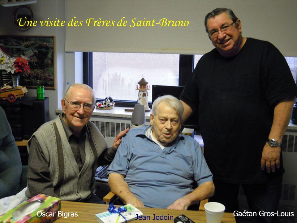 Une visite des Frères de Saint-Bruno