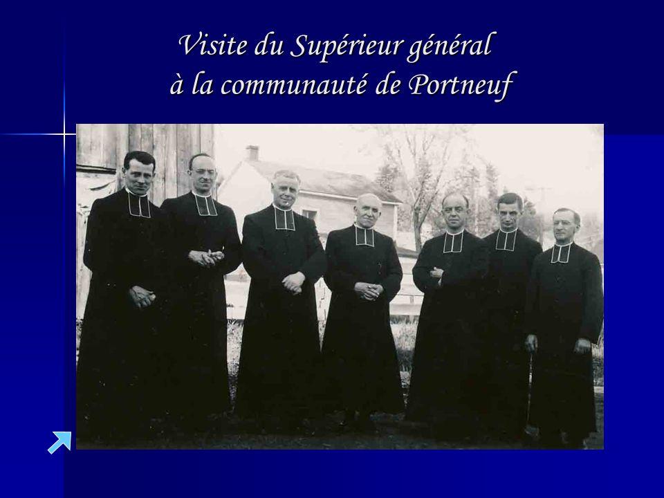 Visite du Supérieur général à la communauté de Portneuf