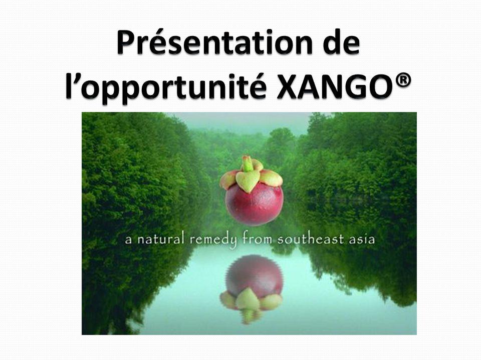 Présentation de l'opportunité XANGO®