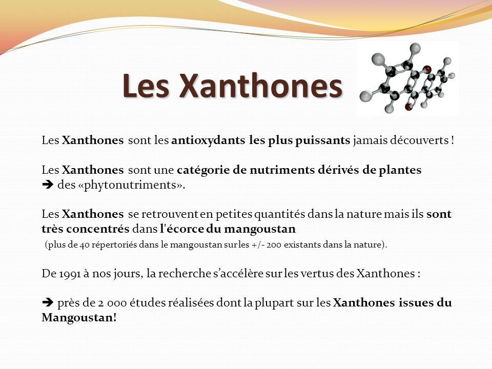 Les Xanthones Les Xanthones sont les antioxydants les plus puissants jamais découverts !