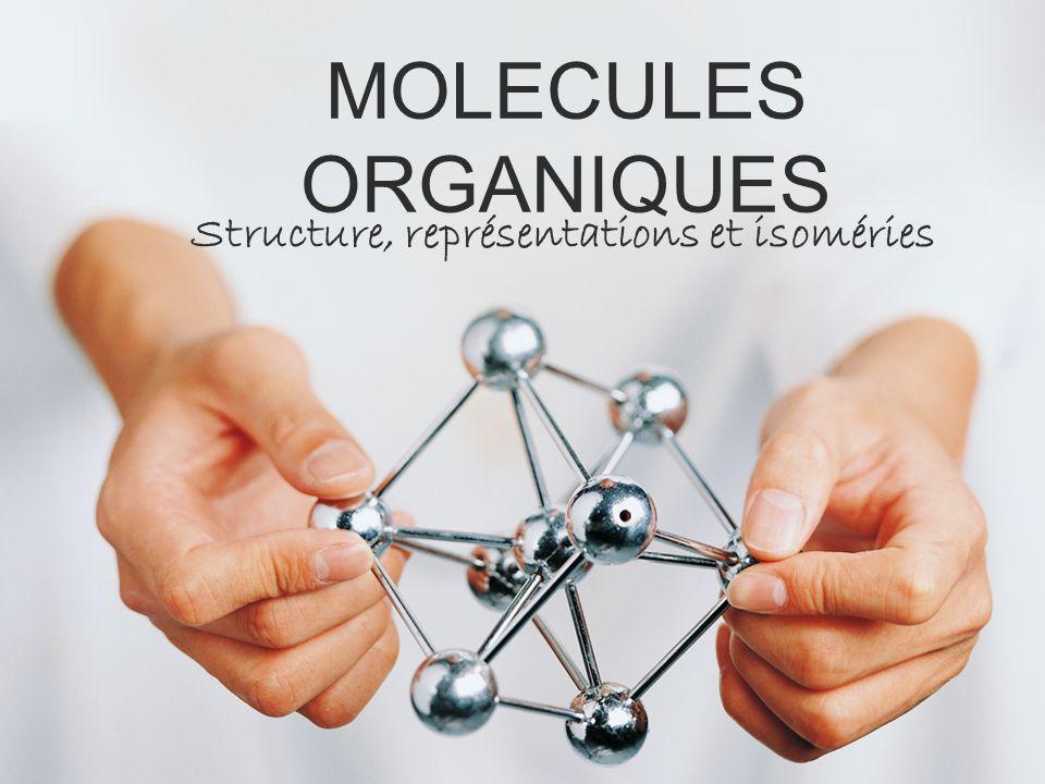 Structure, représentations et isoméries