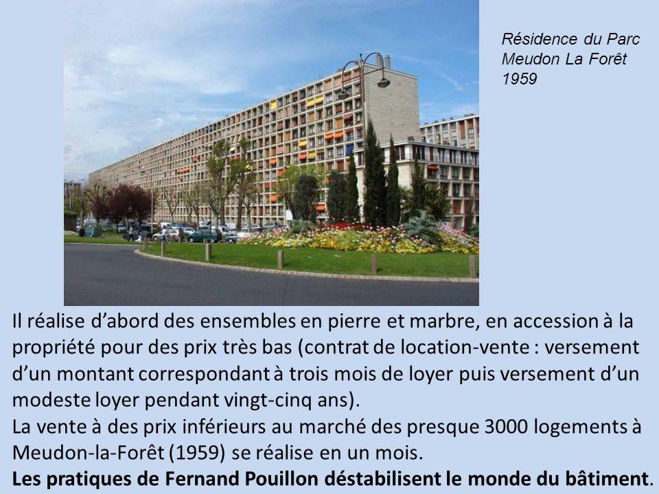 Les pratiques de Fernand Pouillon déstabilisent le monde du bâtiment.