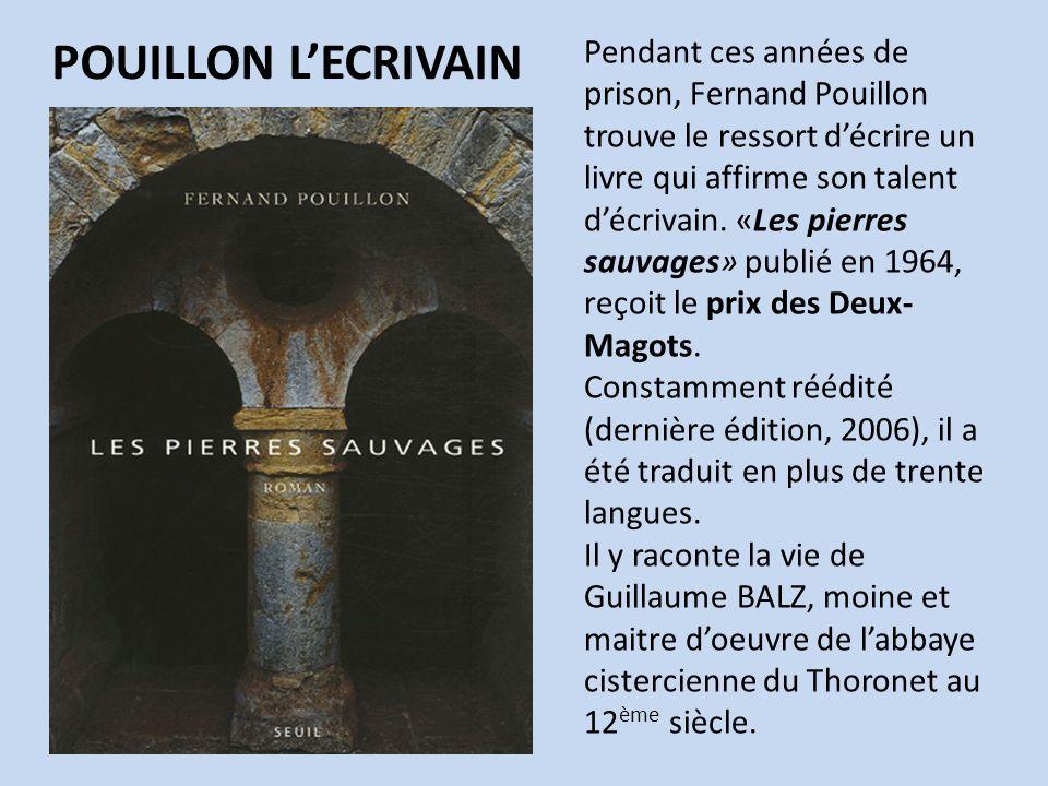 POUILLON L'ECRIVAIN