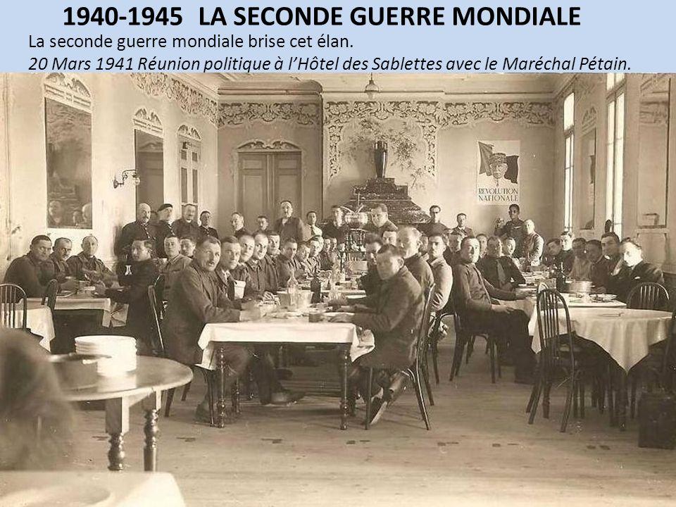 1940-1945 LA SECONDE GUERRE MONDIALE