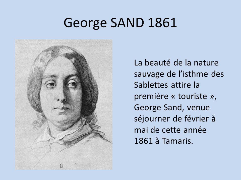 George SAND 1861