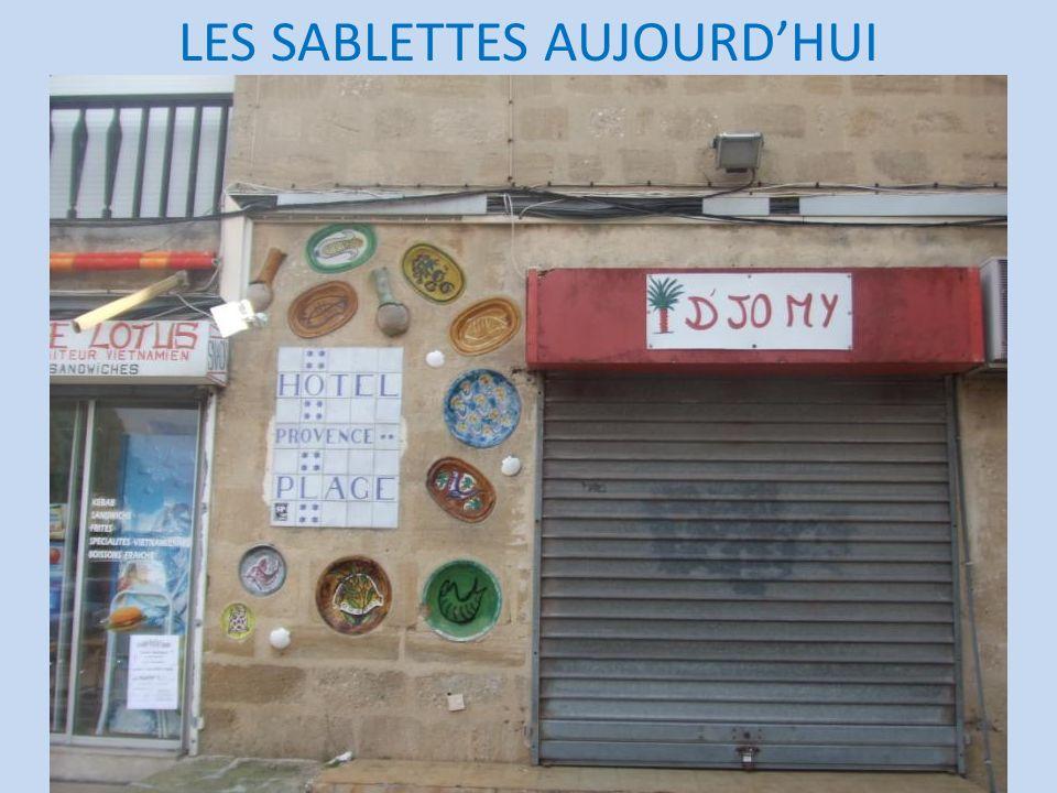 LES SABLETTES AUJOURD'HUI