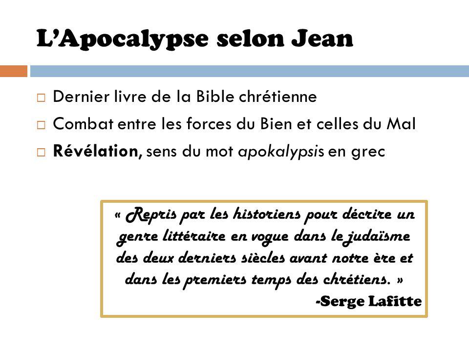 L'Apocalypse selon Jean