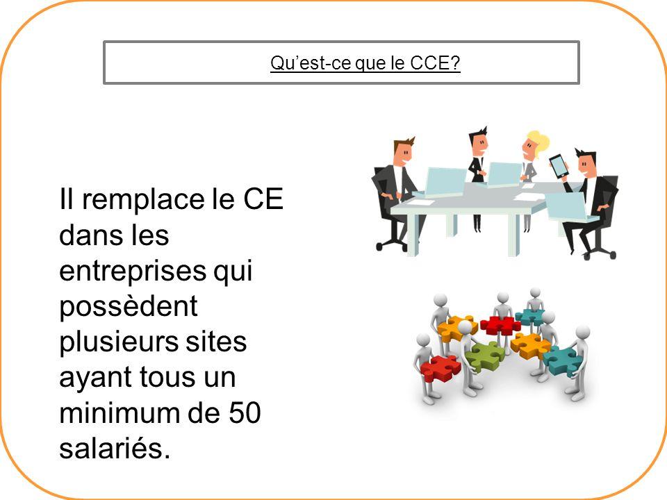 Qu'est-ce que le CCE.