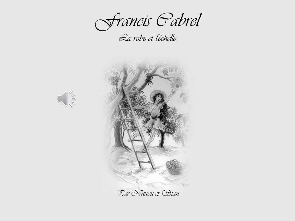Francis Cabrel La robe et l échelle Par Nanou et Stan
