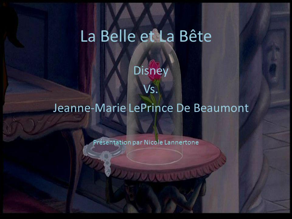 Disney Vs. Jeanne-Marie LePrince De Beaumont