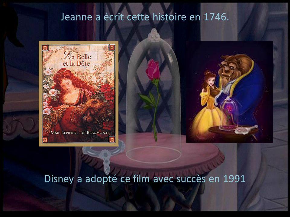 Jeanne a écrit cette histoire en 1746